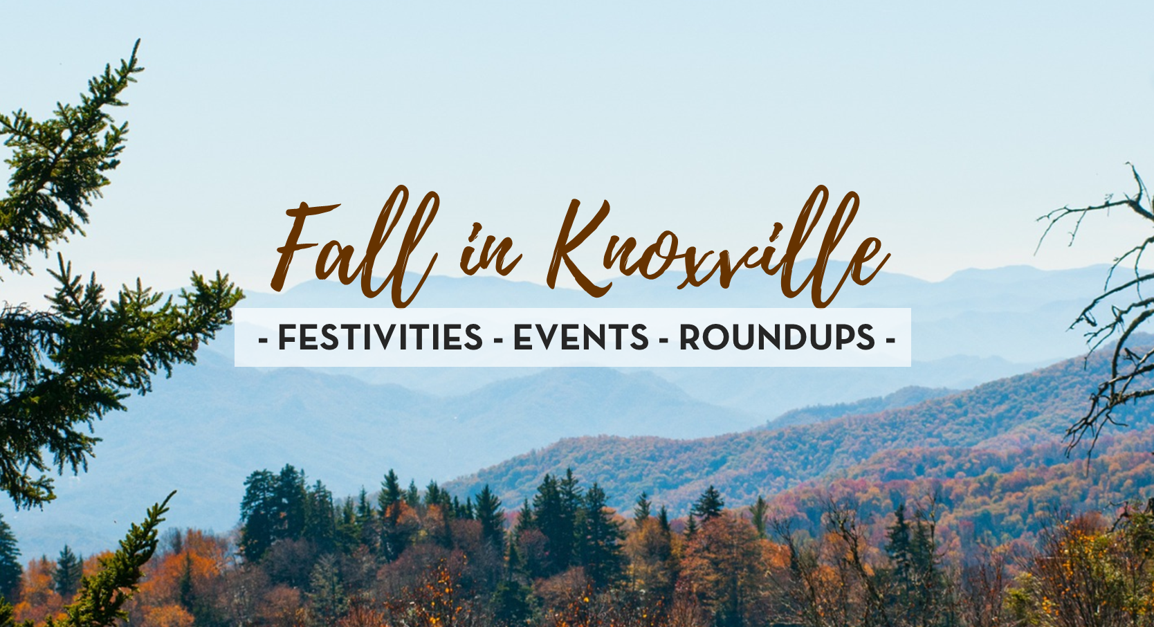 Fall Events in Knoxville