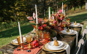 Cheesecloth Table Runner