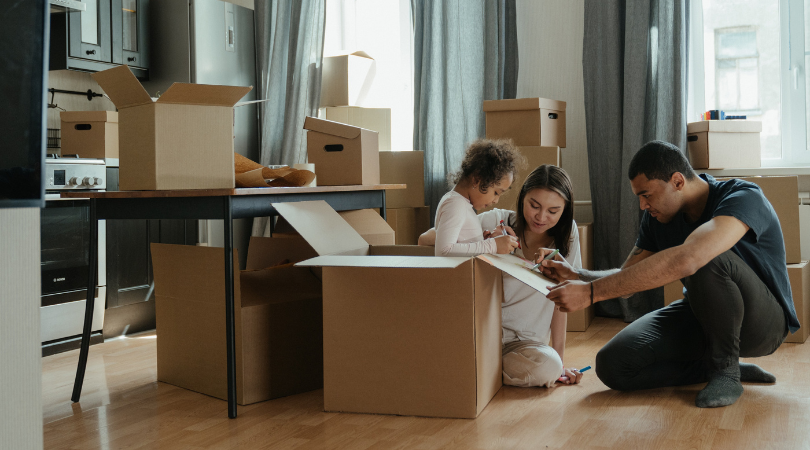 Getting Ready to Move With a Toddler