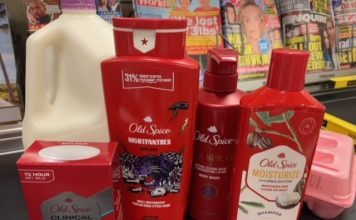 Old Spice Products