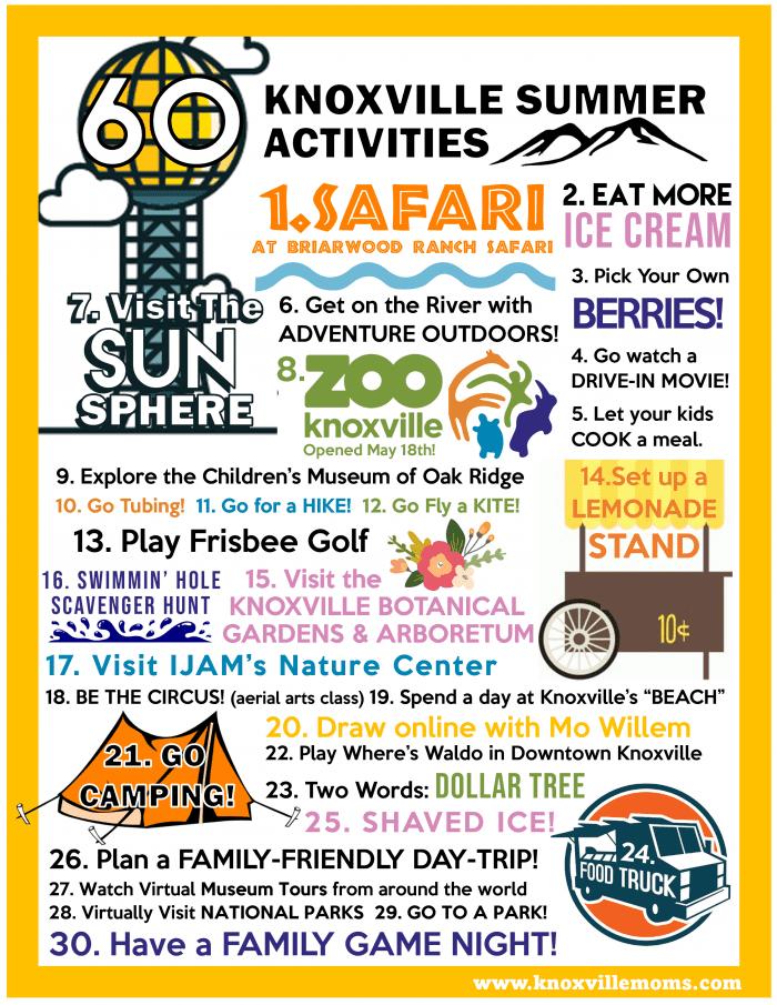 60 Knoxville Summer Activities
