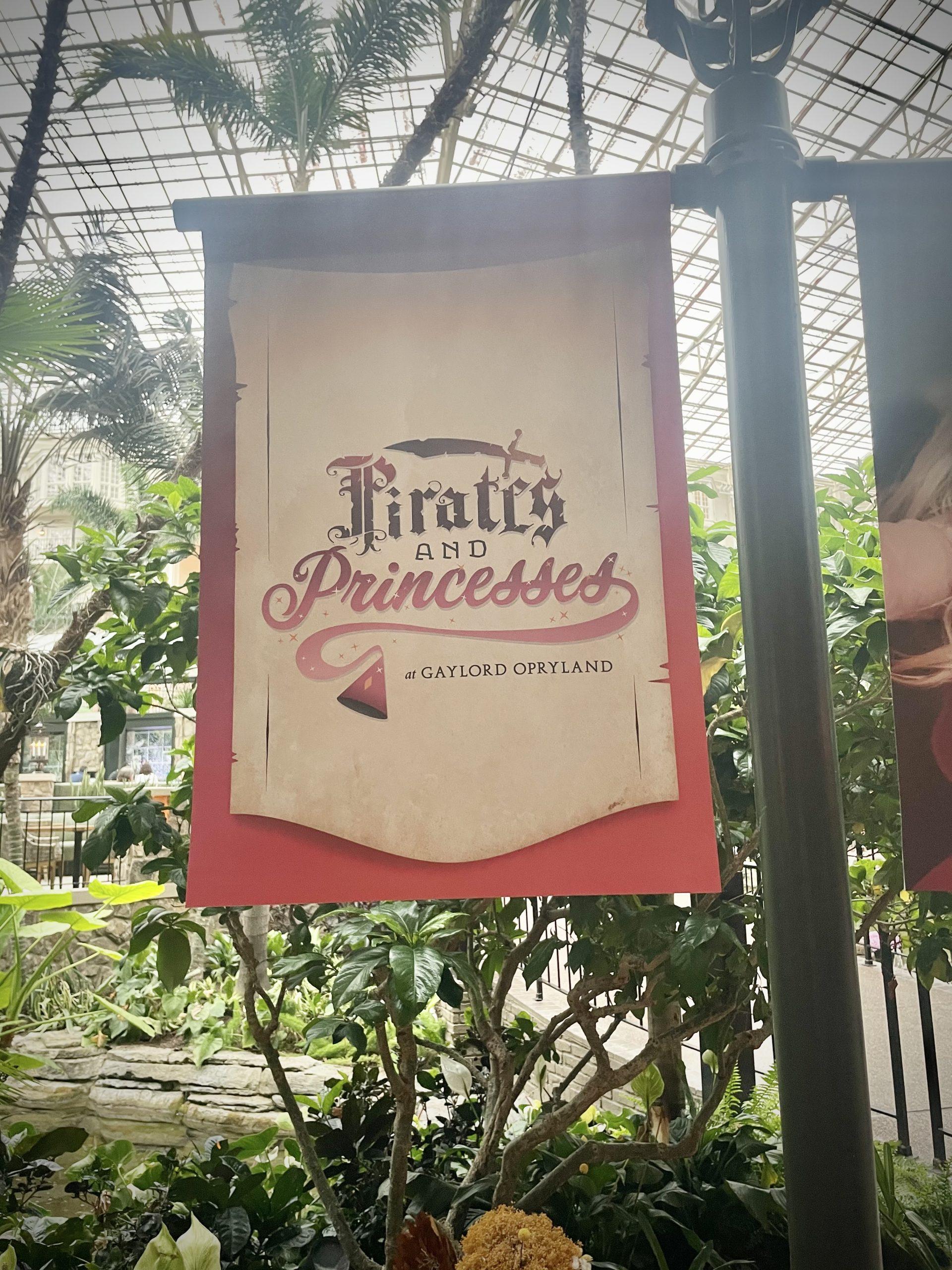 Pirate and Princesses Opryland